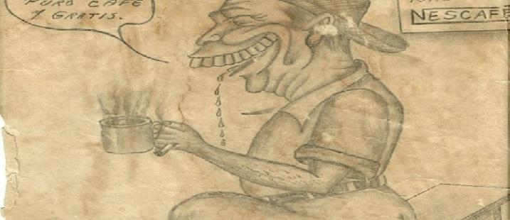 La caricatura de Pepe Gómez en Palenque